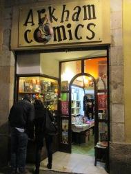 En las puertas de Arkham Comics