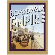 Póster promocional de Boardwalk Empire